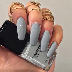 | @◈ n i c o l e l e c h e r ◈ |  Grey matte