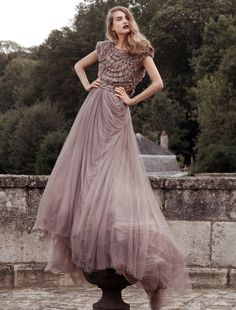 amazing - chiffon with rose bodice