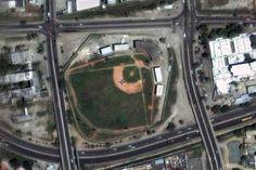 Vista aerea del Stadium Independencia de Puerto Cabello-Venezuela