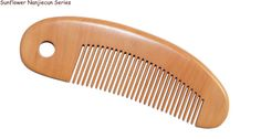 closed toothed comb peach wood comb fine hair comb DH4-5
