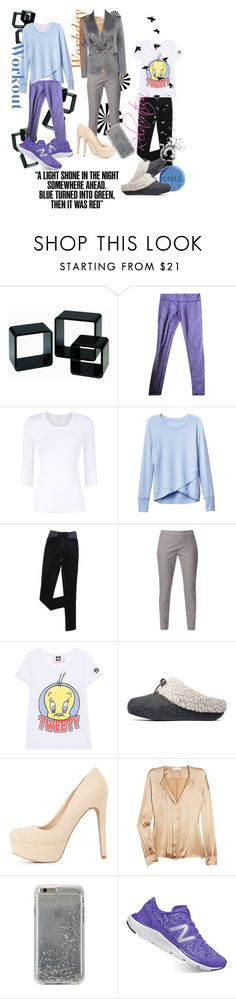 """""""All Nighter"""" by april-wilson-nolen ❤ liked on Polyvore featuring lululemon, Athleta, WtR London, Frogbox, FitFlop, Charlotte Russe, Chloé, Agent 18, New Balance and Balmain"""