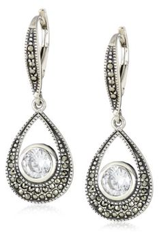 "Judith Jack ""Winter Sparkle"" Sterling Silver, Marcasite and Cubic Zirconia Giftable Earrings Judith Jack,http://www.amazon.com/dp/B008R7M1E6/ref=cm_sw_r_pi_dp_gnJbsb157KWPR9VV"