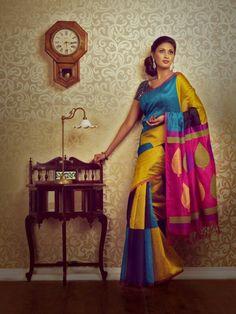 Timeless charm of a Kanchipuram silk saree
