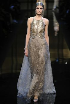 Armani Prive #gold lust spring 2014 couture