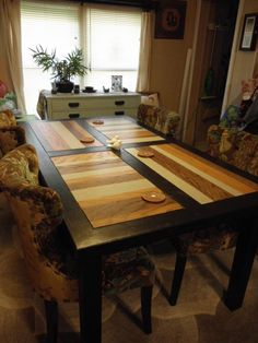 Free DIY Furniture Plans from The Design Confidential: 1900s Boulangerie Table