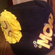 Softball Mom hat on Etsy