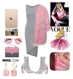 """lovely pink"" by obeylashaune ❤ liked on Polyvore featuring Hermès, Christian Dior, Illesteva, Fendi, MSGM, Disney and StyleRocks"