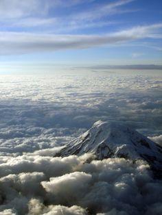 Desde el cielo: Cotopaxi, Ecuador