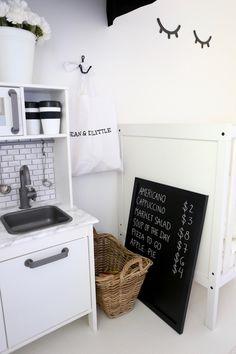 Homevialaura | Nursery | kids room decor | Ikea Duktig play kitchen hack | DIY | Dean & DeLuca goes Dean & DeLittle