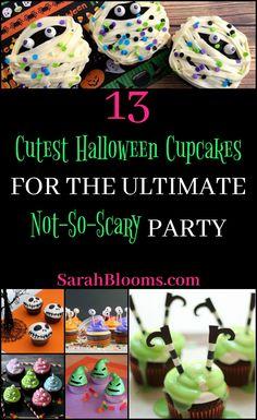 13 Cute Halloween Cupcake Recipes