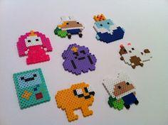 Kawaii perler bead Adventure Timeby OutoftheParkArt