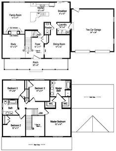 Marvelous Unique Simple 2 Story House Plans 6 Simple 2 Story Floor Plans Largest Home Design Picture Inspirations Pitcheantrous