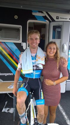 Eli Iserbyt and Puck Moonen