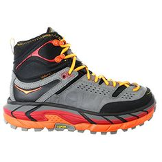 Hoka One One Womens Tor Ultra Hi Waterproof Suede Hiking Shoe 7 Black >>> Check out this great product. (Amazon affiliate link)
