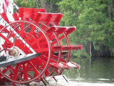 River Boat at Blue Springs, Fl