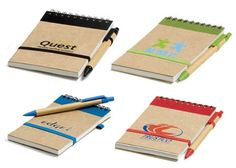 eco friendly mini notebooks
