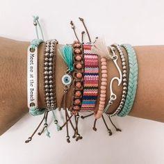 Hippie Bracelets, Summer Bracelets, Cute Bracelets, Hippie Jewelry, Cute Jewelry, String Friendship Bracelets, Cute Boyfriend Gifts, Jewelry Collection, Accessories
