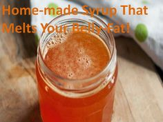 Home Made Syrup That Melts Your Belly Fat! | Medi Villas