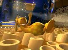 Roni dinosaur, macaroni commercial.