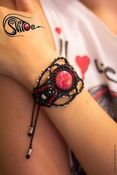 "Russian Artist- Fair Masters - handmade bracelet ""Rose""."