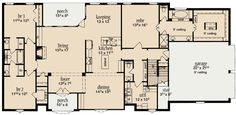 Plan W84020JH: European, Corner Lot, French Country House Plans & Home Designs