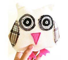 White Mintchi Owl - Awake SML
