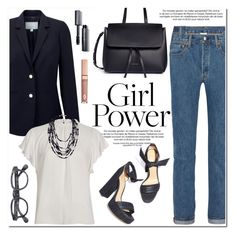 """""""What's Your Power Look?"""" by helenevlacho ❤ liked on Polyvore featuring Pure Collection, River Island, Vetements, Mansur Gavriel, French Connection, Bobbi Brown Cosmetics, contestentry and MyPowerLook"""