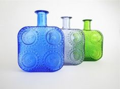 "Nanny Still ""Grapponia"" Bottle sold Bottles And Jars, Be Still, I Shop, Glass Art, Vintage, Design, Pretty, Collection, Jar Art"