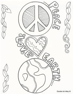 earth flower coloring pages - photo#36