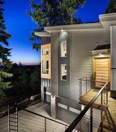 Hilltop House   Grand Vista Subdivision - modern - exterior - portland - Jordan Iverson Signature Homes