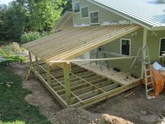 Trendy lean to pergola with roof ideas