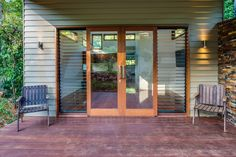 Photos of Timber Hinged and French Doors Hawaii Homes, House On Stilts, Balcony Doors, Windows Exterior, Louvre Windows, French Doors, Timber Windows, Interior Sliding French Doors, Timber Door