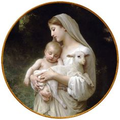 The virgin, Mary, mother of our Lord