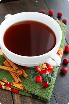 Spiced Cranberry-Apple Cider