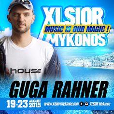 XLSIOR Mykonos 15  - (Guga Rahner Podcast) by XLSIOR FESTIVAL on SoundCloud