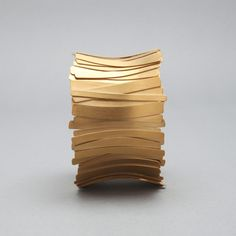 Kevin Grey - Gold Plated Silver Cuff http://kevingrey.co.uk/