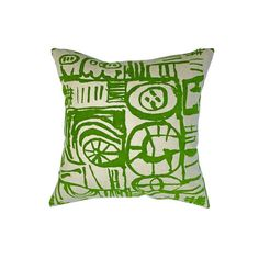 Sketch Cushion Green Printing Ink, Screen Printing, Cushion Pads, Cushion Covers, Thing 1, Royal Academy Of Arts, Sketch Design, Natural Linen, I Shop