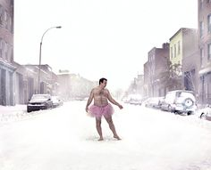 Hairy Man in Tutu Raises Money for Breast Cancer