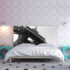 Eiffel Tower Headboard 160, £340, now featured on Fab.
