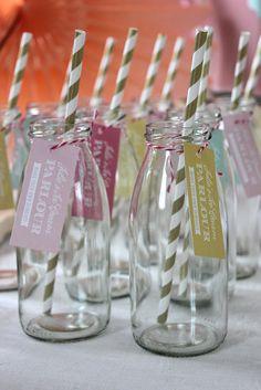 Icecream party! Drink bottles!