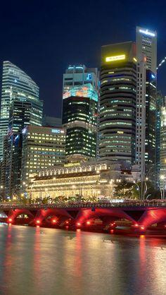 Kuala Lumpur at night,