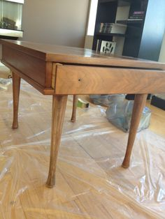 How to paint wood furniture. Probably one of the best tutorials I have read!