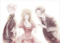 Prussia, Hungary and Austria