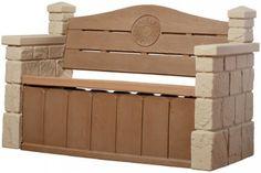Outdoor Storage Bench Patio Deck Box Porch Pool Garden Waterproof Seat Cabinet #CharltonHome