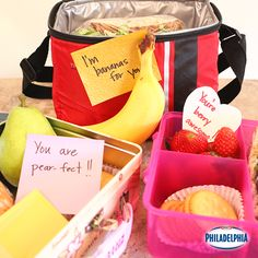 "Nothing says ""I love you"" like surprise lunchbox notes."