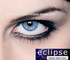 Eclipse Color Light Blue Contact Lenses