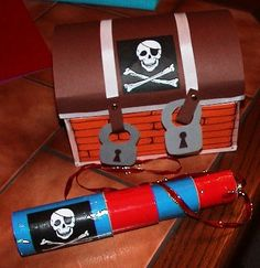 Die Bastel-Elfe, alles rund ums Basteln … The handicraft fairy, everything about handicrafts – pirate birthday – treasure chest and. Pirate Birthday, Pirate Theme, Sensory Activities, Activity Games, Valentine Day Boxes, Valentines, Ideas Para Fiestas, Treasure Boxes, Holidays And Events