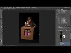 Photoshop tutorial - miniature kids effect. Really cool!!!