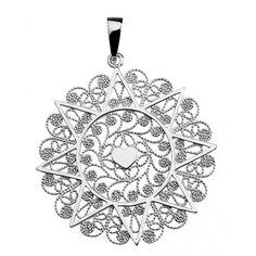 ciondolo presentosa in argento 925 cm.3.8