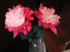 Double Peony Paper Flower